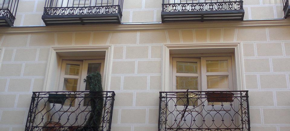 Restauración integral de fachada