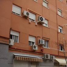 Aplicación mortero monocapa en fachada